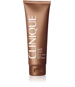 Clinique Self Sun Body Tinted Lotion <br>Light - Medium